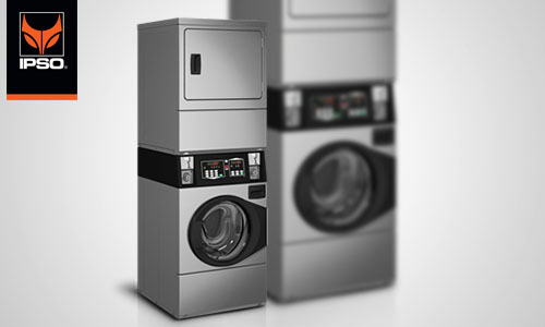 6. Commercial stack washer-dryers CS10-Series