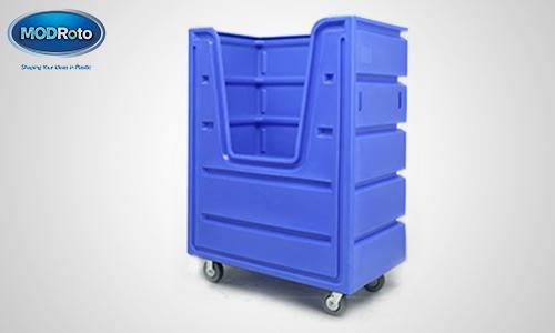 2. 72P Bulk Laundry Cart