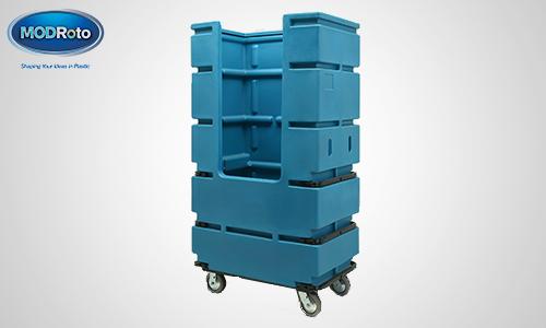 3. 71P Bulk Laundry Cart